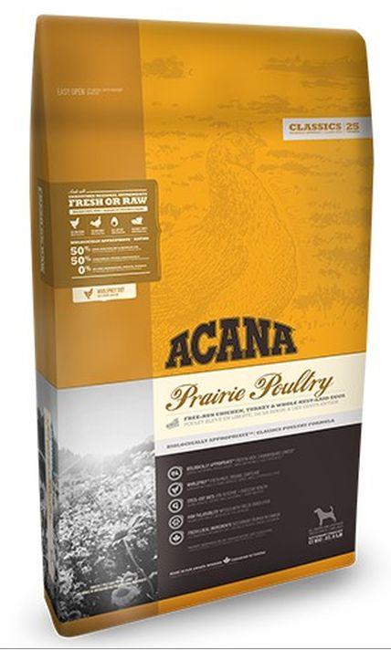 Acana Classic Prairie Poultry Kurczak I Indyk Z Wolnego Wybiegu Oraz
