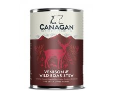 Canagan Venison & Wild Boar Stew for dogs 395g