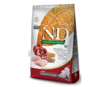 Farmina N&D Ancestral Grain Dog Chicken, Spelt, Oatsand Pomegrante Puppu Medium & Maxi