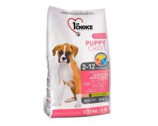 1st Choice Dog Puppy Sensitive Skin & Coat Lamb, fish & brown rice