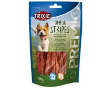 Trixie Premio Omega Stripes Light filety z kurczaka z dodatkiem Omega 3 i 6 100g