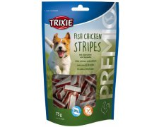 Trixie Esqusita Premio Light Stripes kurczak z łososiem 75g