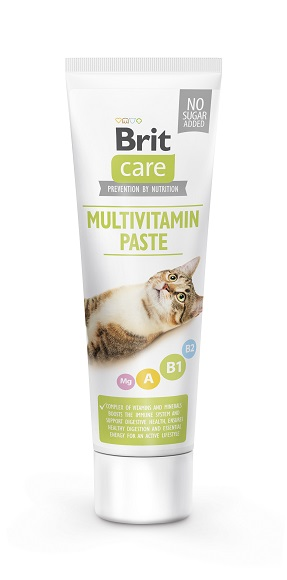 Brit Care Cat Paste Multivitamin pasta witaminowa dla kota 100g