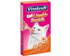 Vitakraft Cat Liquid-Snack z Kaczką 6x15g