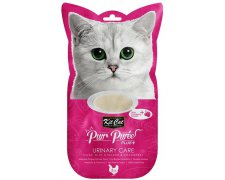 Kit Cat PurrPuree Plus + Chicken Urinary Care 4x15g