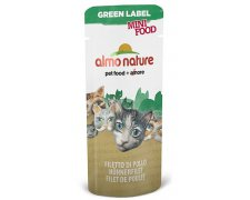 Almo Nature Green Label Mini Food filet z wybranego mięsa 3g