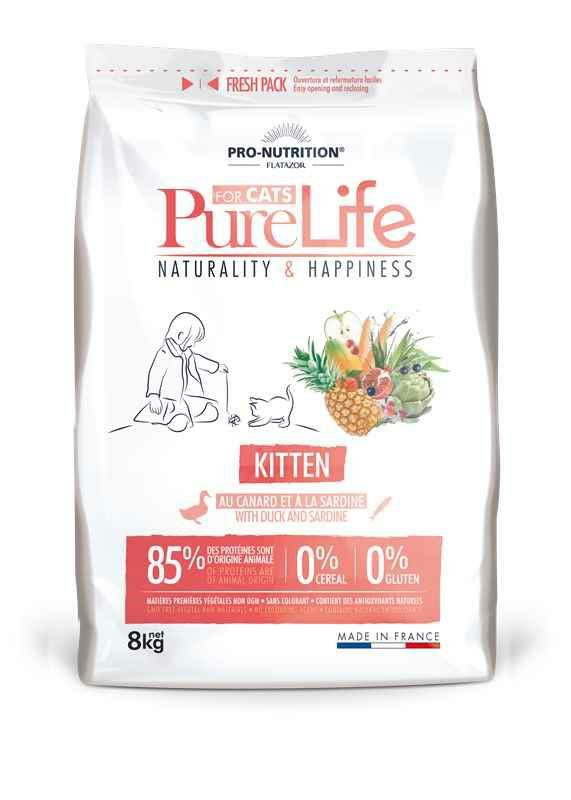 Pro-Nutrition Pure Life Kitten Duck z kaczką