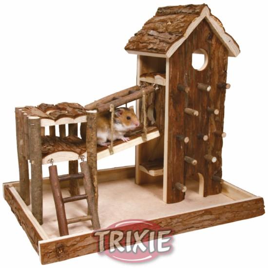 Inteligentny Trxie plac zabaw dla chomika - Place zabaw - Kołowrotki, tunele FB04