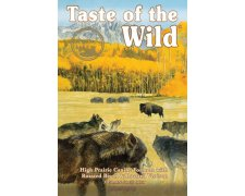 Taste of the Wild High Prairie Canine z mięsem z bizona