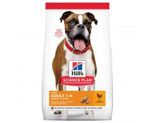 Hill's Science Plan Canine Adult 1–6 Light Medium Chicken z kurczakiem