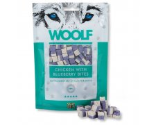 Woolf chicken blueberry przysmak dla psa 100g