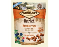 Carnilove Crunchy Snack Ostrich & Blackberries With Fresh Meat 200g