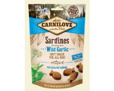 Carnilove Semi Moist Snack Sardines Enriched With Wild Garlic 200g