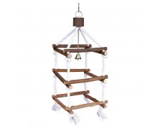 Trixie Natural Living Tower with Rope 51cm