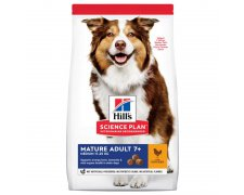 Hill's Canine Mature Adult 7 + Medium with Chicken