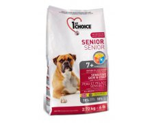 1st Choice Dog Less Active & Senior Sensitive Skin & Coat Lamb, fish & brown rice