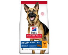 Hill's Science Plan Mature Adult 6 + Large Kurczak 14kg