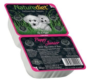 Naturediet Puppy Junior Chicken and Lamb with Rice and Vegetables