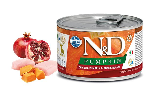 Farmina N&D Pumpkin canine junior starter mini 285g