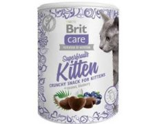 Brit Care Cat Snack Super Fruit Kitten bezzbożowy przysmak dla kociąt 100g