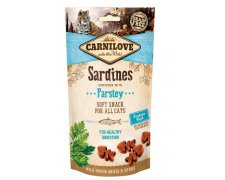 Carnilove Cat Snack Fresh Soft Sardine + Parsley 50g
