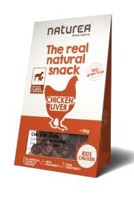 Naturea The Real Natural Snack suszone przysmaki dla psa 80g