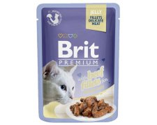 Brit Premium Cat Fillets galaretka saszetka 85g