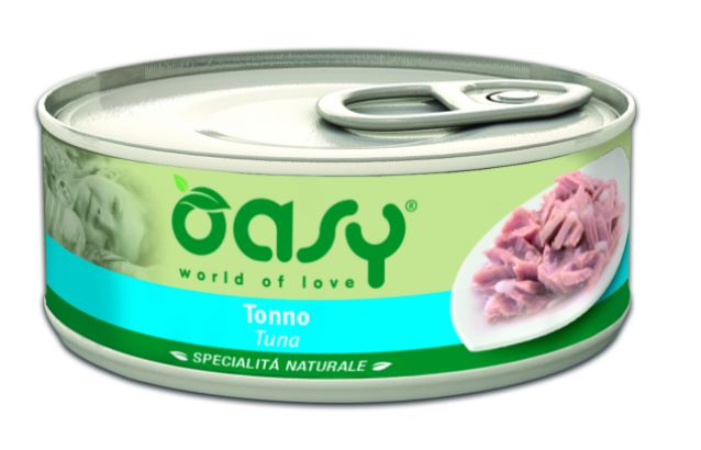Oasy Natural Range Cat Adult Tuńczyk 150g