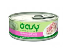 Oasy Natural Range Cat Adult Kurczak z łososiem 150g