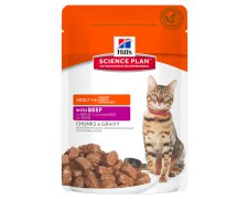 Hill's SP Science Plan Feline Adult Beef Wołowina saszetka 85g