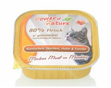 Power of Nature MM Cat Puszka 85g bez glutenu
