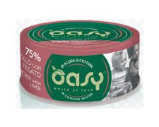 Oasy More Love Cat Adult kurczak z wątróbką 70g