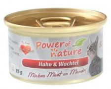 Power of Nature Minkas Meat Puszka dla kota 85g