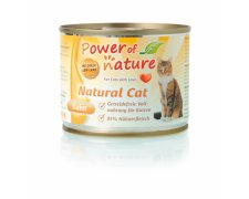 Power of Nature Natural Cat puszka 200g bez glutenu