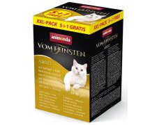 Animonda vom Feinsten Cat MixPack 5 + 1 gratis tacki 6x100g